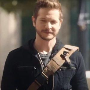Conrad Hawkins The Resident Season 04 Matt Czuchry Black Cotton Jacket