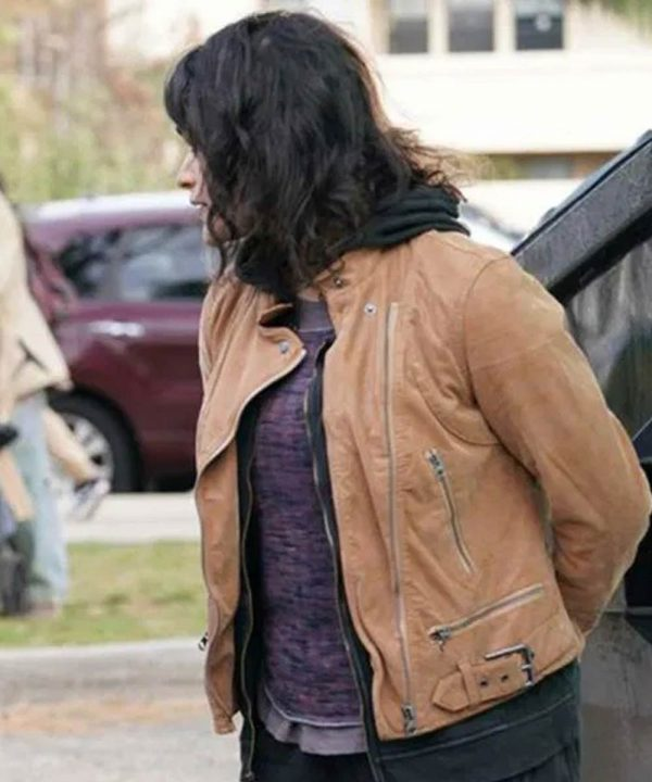 Eve Harlow Jacket   The Rookie Bianca Win