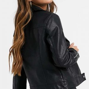 Riverdale S05 Toni Topaz Leather Biker Jacket