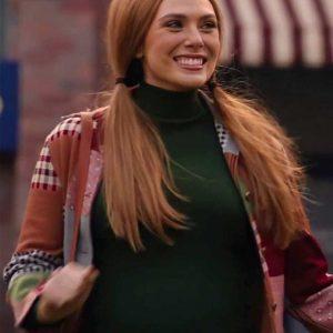 Wanda Maximoff Jacket | WandaVision Elizabeth Olsen Jacket