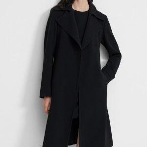 Lauren Graham TV Series Zoey's Extraordinary Playlist Joan Black Trench Coat