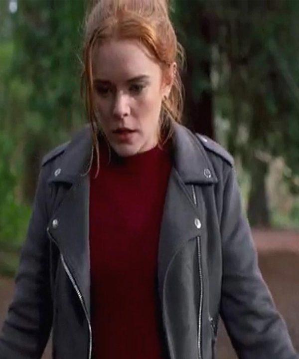 Bloom Fate The Winx Saga Leather Jacket Abigail Cowen Black Jacket