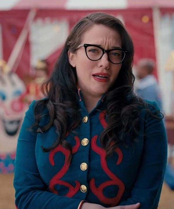Kat Dennings WandaVision Blue Jacket WandaVision Darcy Lewis Jacket