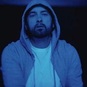 Eminem-Darkness Hoodie Grey Eminem