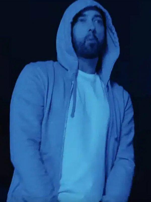 darkness Hoodie Grey Eminem