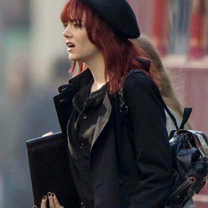 Cruella (2021) Emma Stone Black Coat