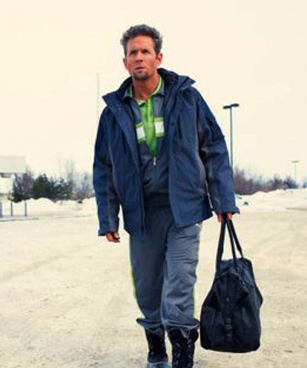 Glenn Howerton Fargo Don Chumph Blue Cotton Jacket