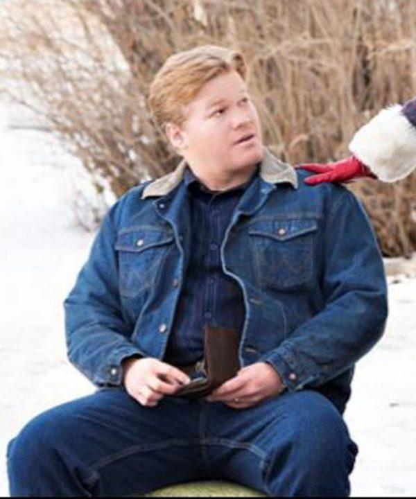 Jesse Plemons Fargo Ed Blumquist Blue Denim Jacket