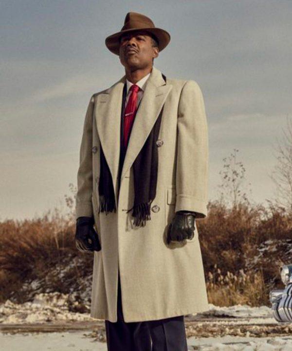 Chris Rock TV Series Fargo Season 04 Loy Cannon White Trench Coat