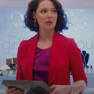 Tully Hart Katherine Heigl TV Series Firefly Lane 2021 Red Blazer