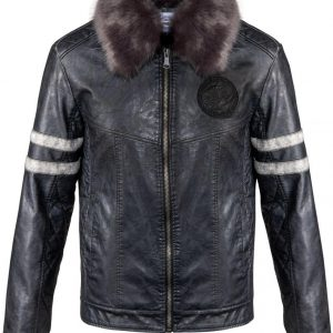 Dragon Picture Printed Game Of Thrones Leather Jacket