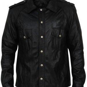 Vampire Diaries Joseph Morgan Black Leather Jacket
