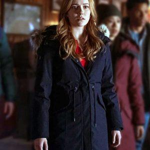 Kennedy McMann TV Series Nancy Drew Blue Coat