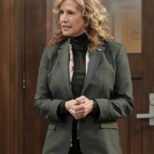 Nancy Travis TV Series Last Man Standing Vanessa Baxter Green Blazer