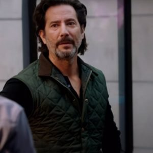 Henry Ian Cusick MacGyver Season 04 Russ Taylor Quilted Vest