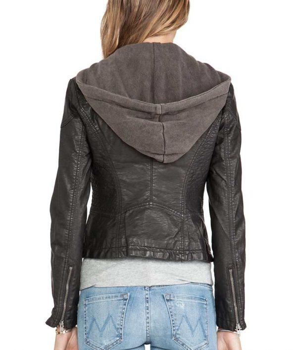 Macgyver Season 5 Riley Davis Hooded Jacket