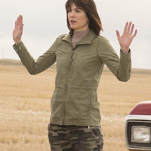 Mary Elizabeth Winstead TV Series Fargo Nikki Swango Green Cotton Jacket