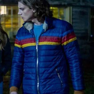 Ace TV Series Nancy Drew Alex Saxon Rainbow Puffer Jacket
