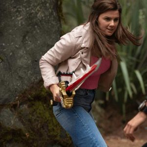Amelia Jones Power Rangers Dino Fury 2021 Hunter Deno Jacket