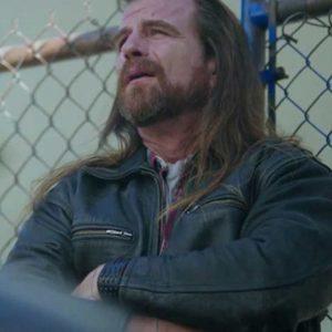 Scott McNeil TV Series Riverdale Tall Boy Black Leather Jacket