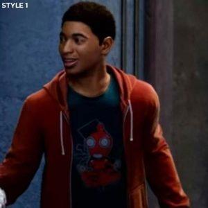 Miles Morales Spider Verse Hoodie