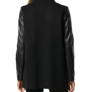 Bitsie Tulloch Superman and Lois 2021 Lois Lane Blazer with Leather Sleeves