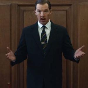 Greville Wynne The Courier 2021 Benedict Cumberbatch Black Blazer