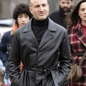 Shashi Rami Black Leather The Drowning Coat