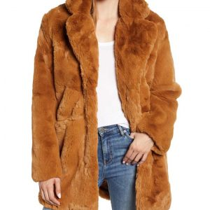 The Equalizer 2021 Melody Chu Fur Coat Melody's Faux Fur Coat