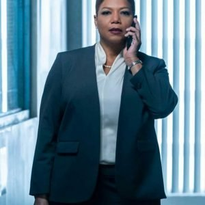Robyn McCall The Equalizer 2021 Queen Latifah Blue Blazer