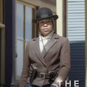 Regina King The Harder They Fall Brown Jacket