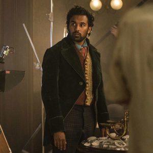 Emery Staines The Luminaries 2021 Green Velvet Himesh Patel Tailcoat