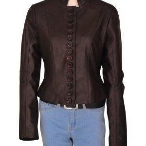 The Vampire Diaries Season 3 Elena Gilbert Leather Jacket