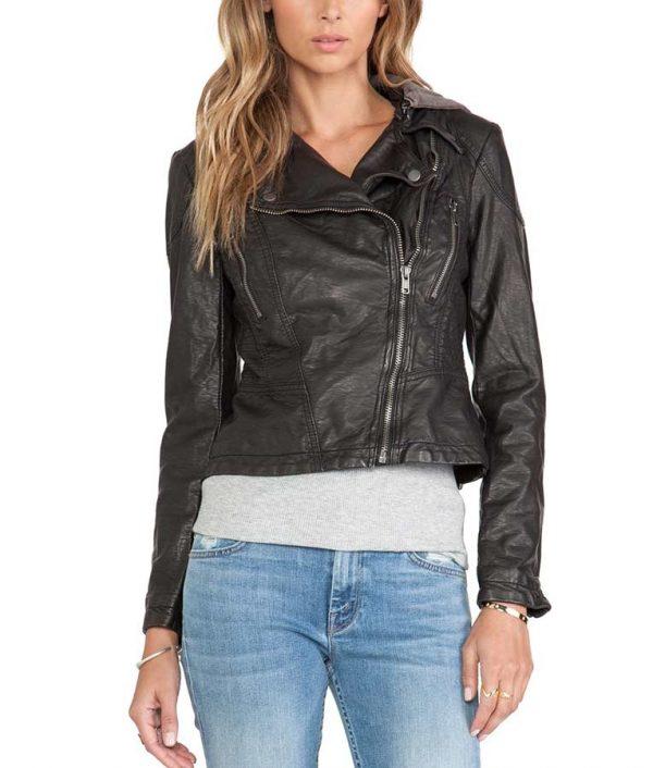 Macgyver Season 5 Riley Davis Hooded Jacket Tristin Mays Jacket