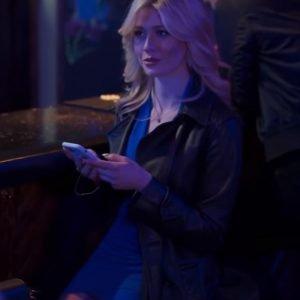 Amy Katherine McNamara Trust 2021 Black Leather Coat