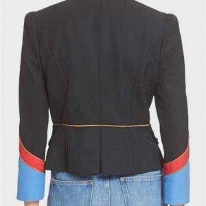 Riverdale Valerie Black Jacket | Hayley Law Military Jacket