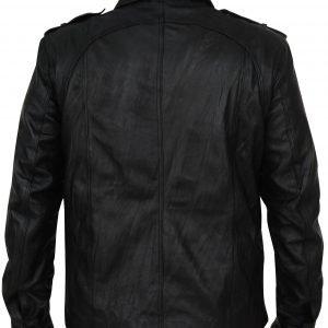 Klaus Mikaelson Vampire Diaries Joseph Morgan Black Leather Jacket