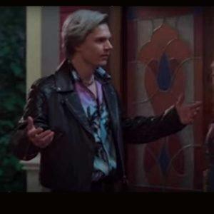 2021 Evan Peters Leather Jacket WandaVision