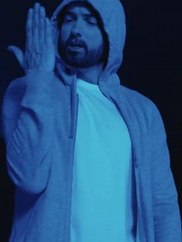 Darkness Eminem Grey Hoodie