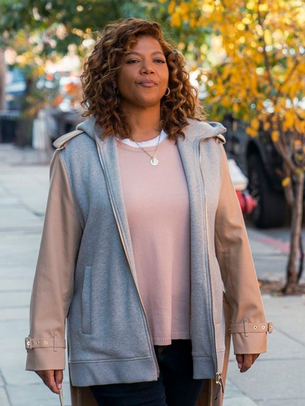 Robyn Mccall The Equalizer 2021 Queen Latifah Long Tail Jacket