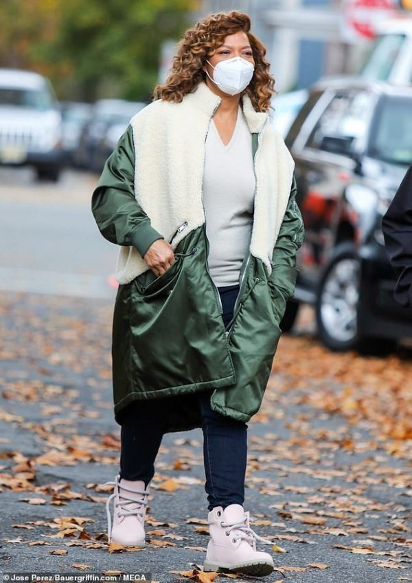 the-equalizer-2021-queen-latifah-green-white-coat