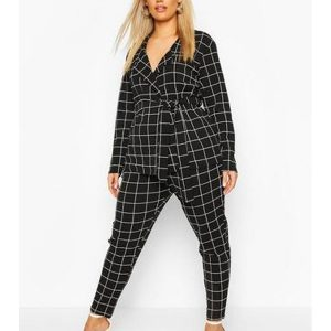 Zoey's Extraordinary Playlist Mo Black Checked Suit