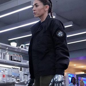 Elena Rodriguez TV Series Agents of Shield Natalia Cordova Buckley Cotton Jacket