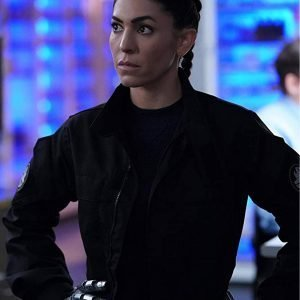 Agents of Shield Natalia Cordova Buckley Black Cotton Jacket