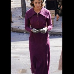 Daisy Johnson TV Series Agents of Shield Season 07 Chloe Bennet Purple Coat