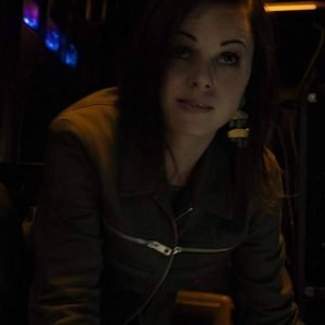 Brooke Williams Agents of Shield Jacket Snowflake Leather Jacket