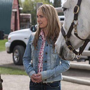 Amber Marshall Heartland Amy Fleming Blue Denim Jacket