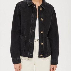 Button-Denim-jacket