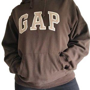 Vintage-Brown-Gap-Hoodie