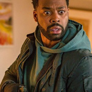 LaRoyce Hawkins Chicago P.D. Season 07 Kevin Atwater Cotton Jacket